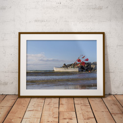 """Poster """"Fischerboot"""""""