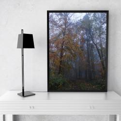 "Poster ""Herbstwald"""