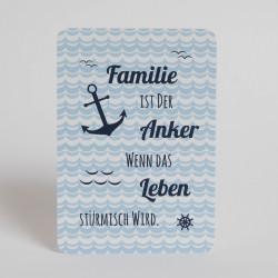 "Postkarte ""Familie"""