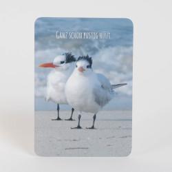 "Postkarte ""Plustig"""