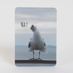 "Postkarte ""Na?"""