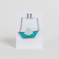 Origami-Kette aus Holz...